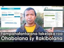 Embedded thumbnail for Fampahafantarana takelaka ohabolana.org sy ny rakibolana.org
