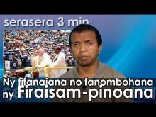 Embedded thumbnail for Ny fifanajana no hanombohana ny firaisam-pinoana