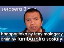 Embedded thumbnail for Hampahafantatra ny teny malagay amin'ny tambazotra sosialy